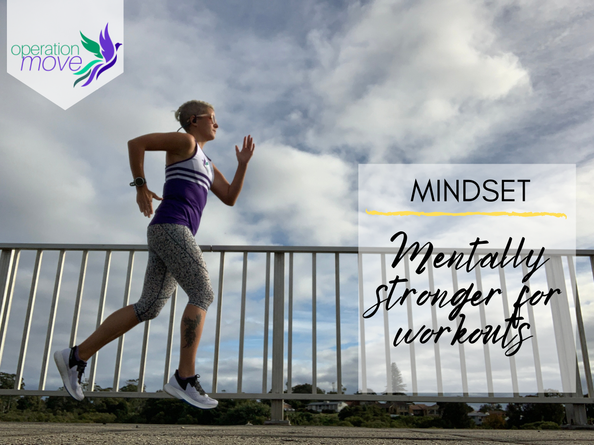 Title image - mentally stronger for workouts